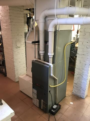 Gas furnace replacement in Branford, CT!