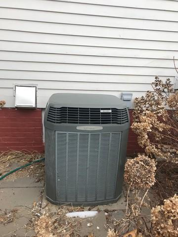 Central AC replacement in Branford, CT!