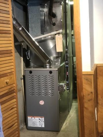 Emergency Gas furnace replacement in Branford, CT!