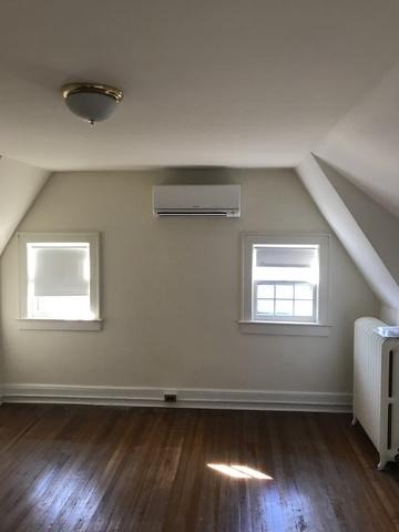 Mitsubishi ductless installation done in Greenwich, CT - After Photo