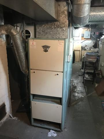 Gas furnace replacement done in West Haven, CT!