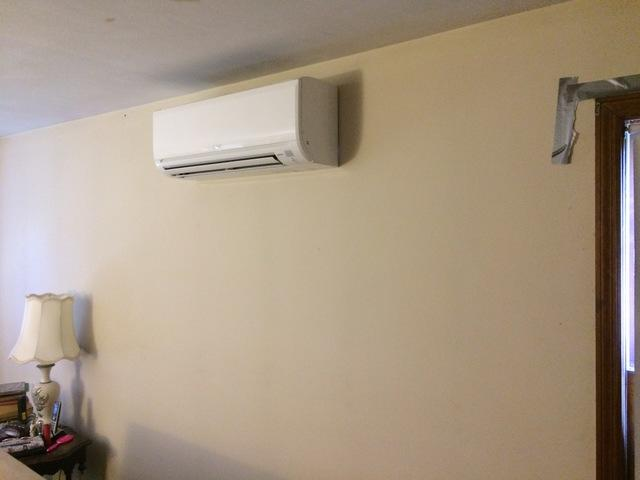 Mitsubishi Ductless Installation in Trumbull, CT - After Photo