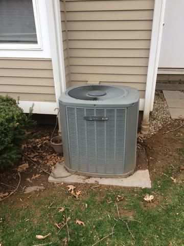 Before and After Air Conditioning Replacement in Branford, CT - Before Photo