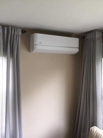 Carrier Ductless installation for our customer in Waterford, CT!
