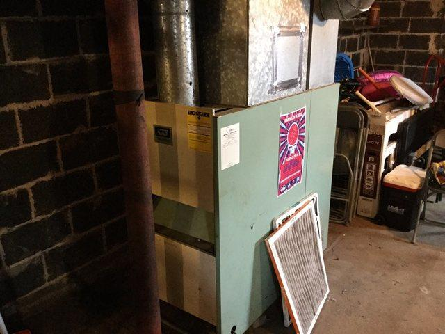 Furnace replacement for our customer in Branford, CT!