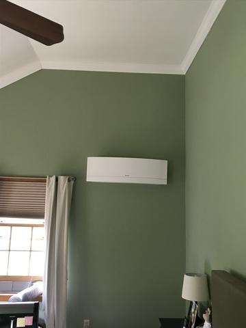 Daikin ductless installation done for our customer in Oxford, CT!
