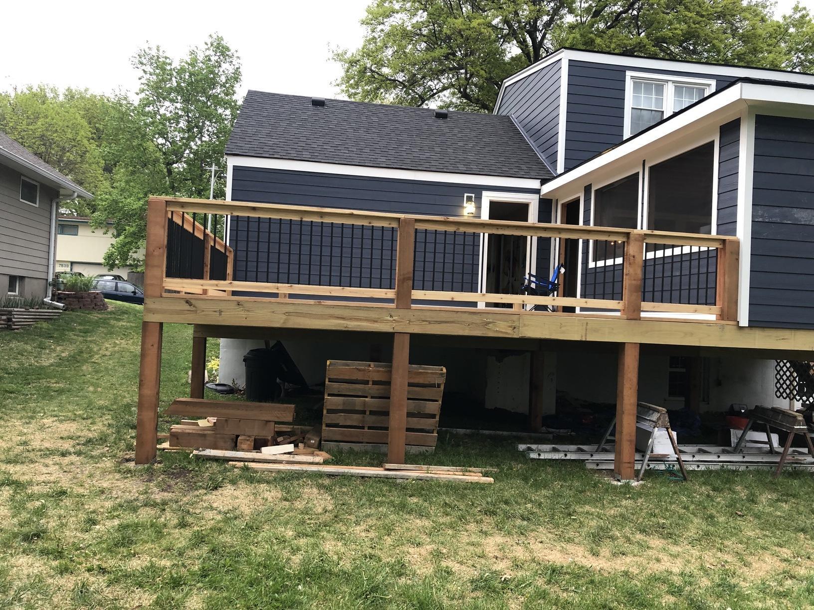 Install James Hardie Siding. Overland Park, KS - After Photo