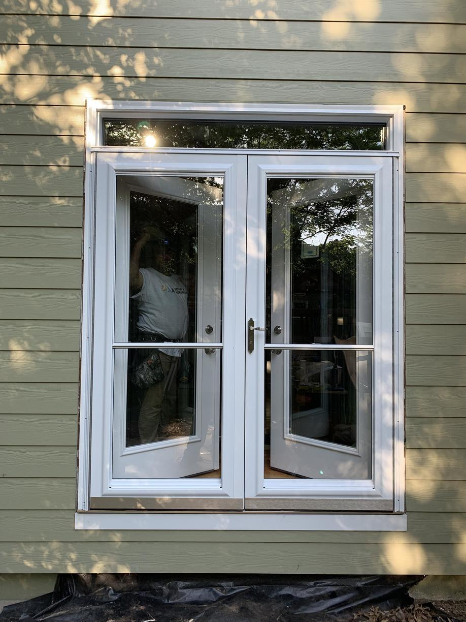 Install French door and French storm door Leawood, KS - After Photo