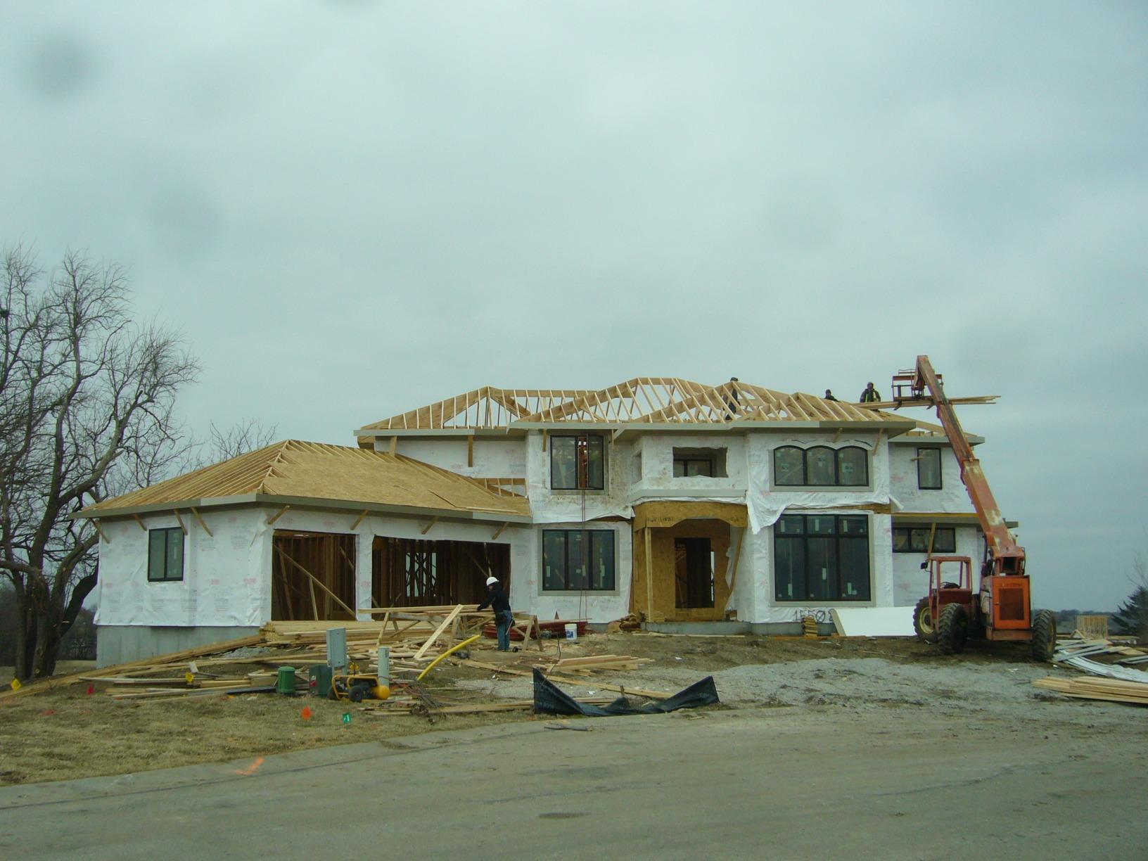 New Construction in Overland Park, KS - Before Photo