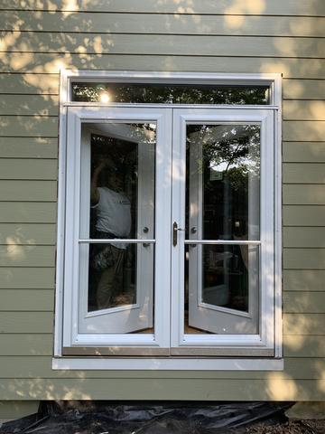 Install French door and French storm door Leawood, KS