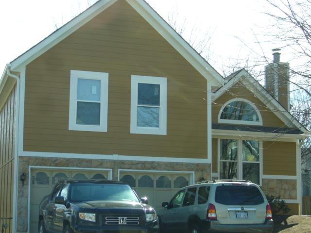 Install James Hardie siding and Room Addition - After Photo