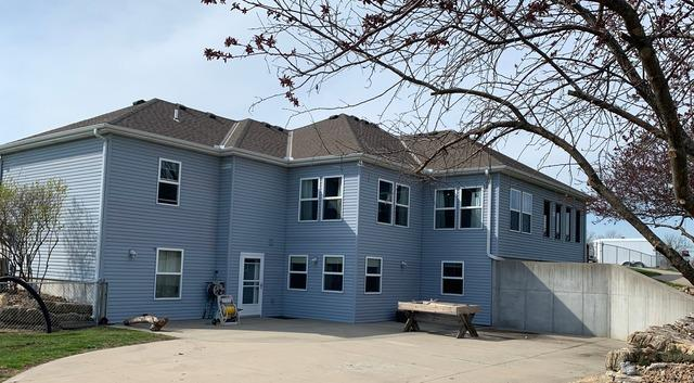 Install James Hardie Siding in Lee's Summit, MO - Before Photo