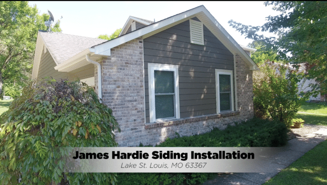 James Hardie Siding Installation in Lake St. Louis, MO - After Photo