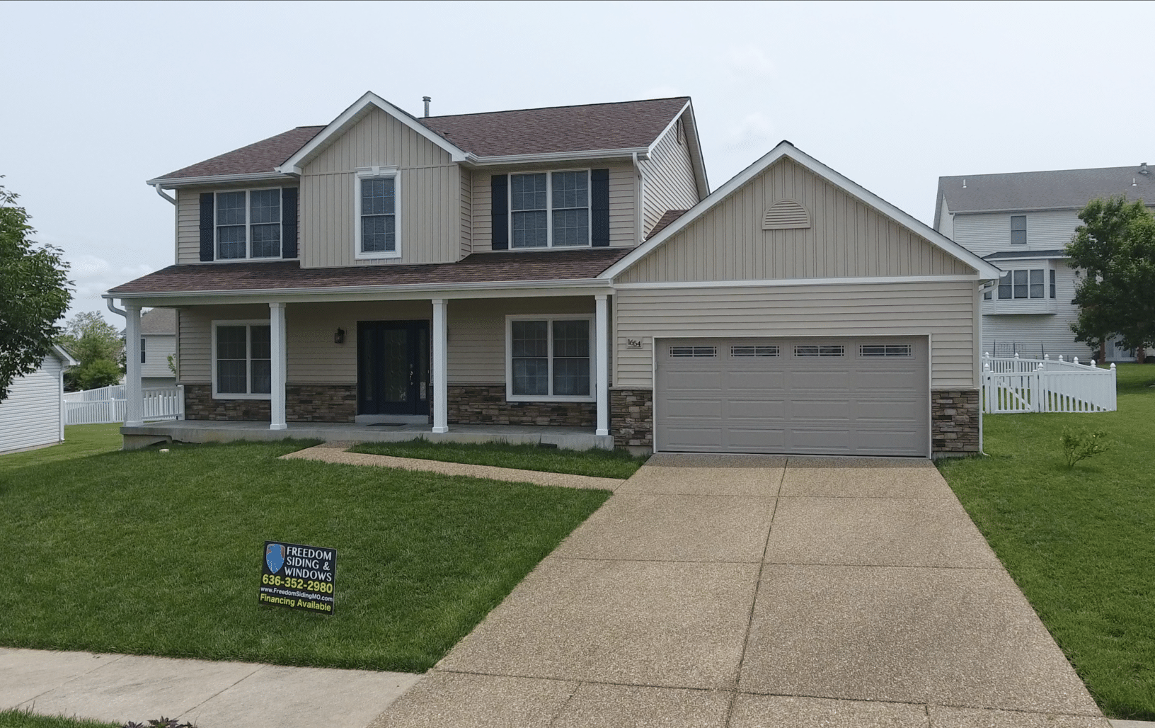 Total Exterior Remodel in Wentzville, MO! - After Photo
