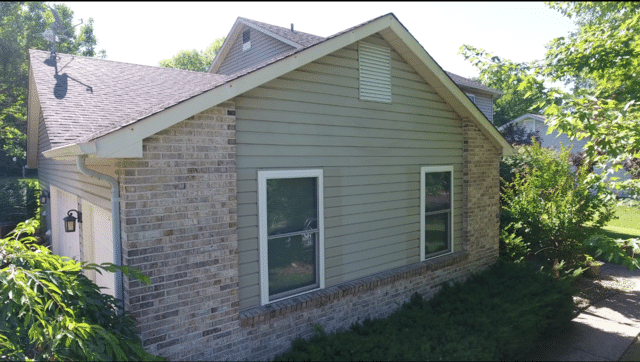 James Hardie Siding Installation in Lake St. Louis, MO - Before Photo