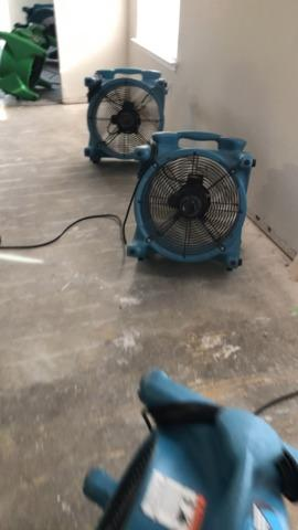 Water Damage to Laminate Free floating floors - Georgetown, TX - After Photo