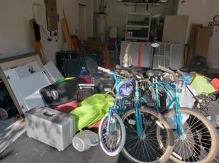 Garage Cleanout in Bradenton, FL - Before Photo