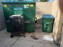 Gas Grill Removal in Bradenton, FL - Before Photo