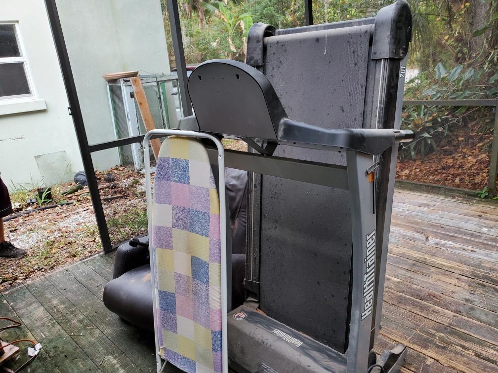 Treadmill Removal in Palmetto, FL - Before Photo