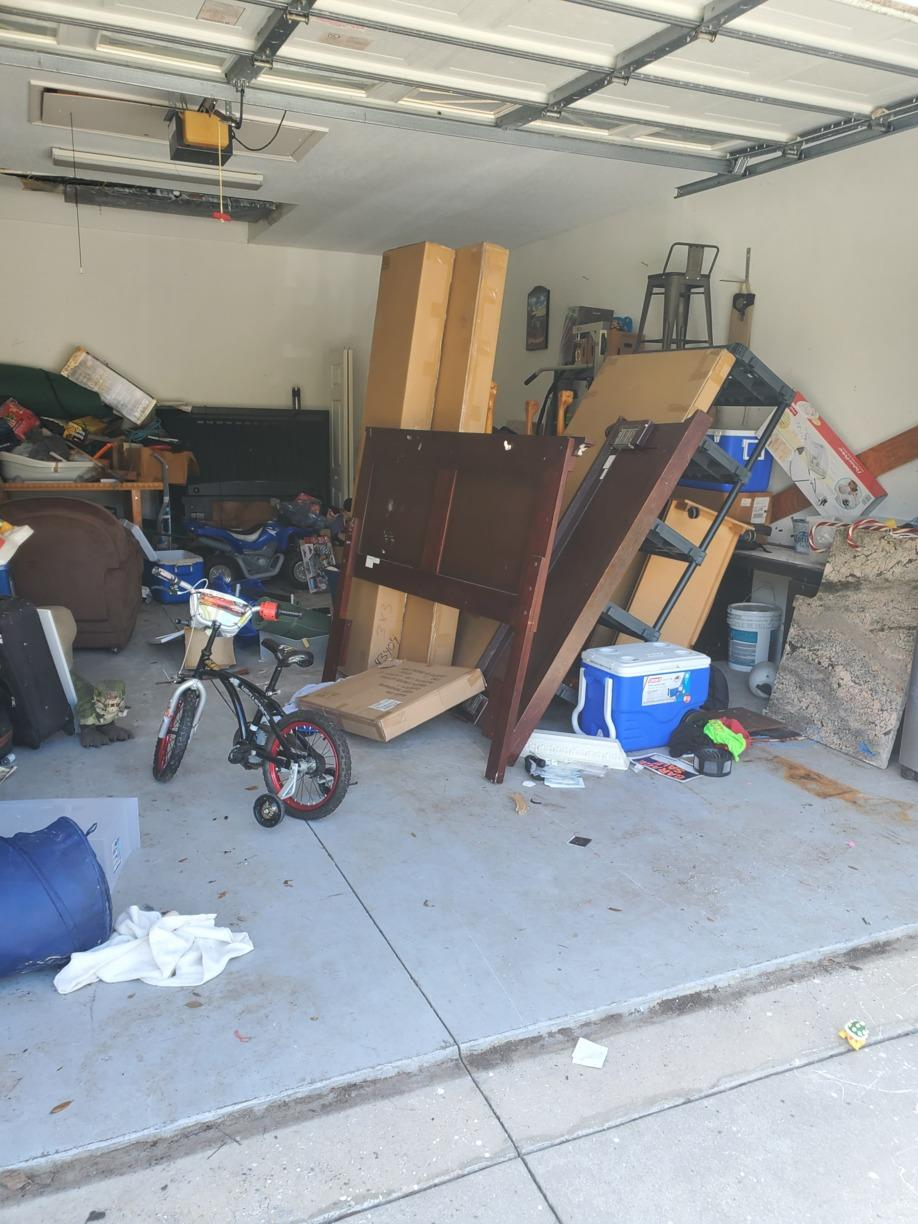 Garage clean out Parrish, FL - After Photo