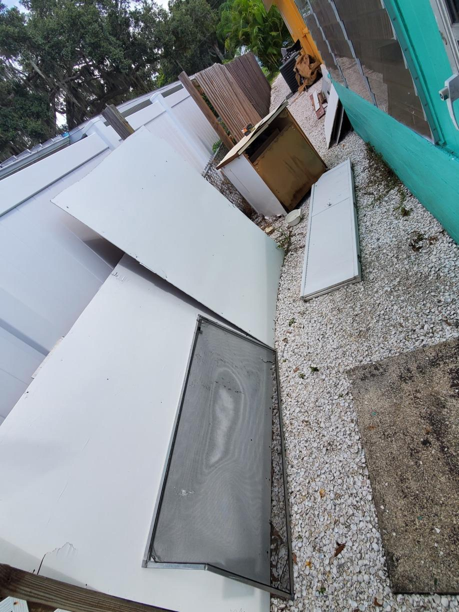 Remodeling clean up Palmetto FL - Before Photo