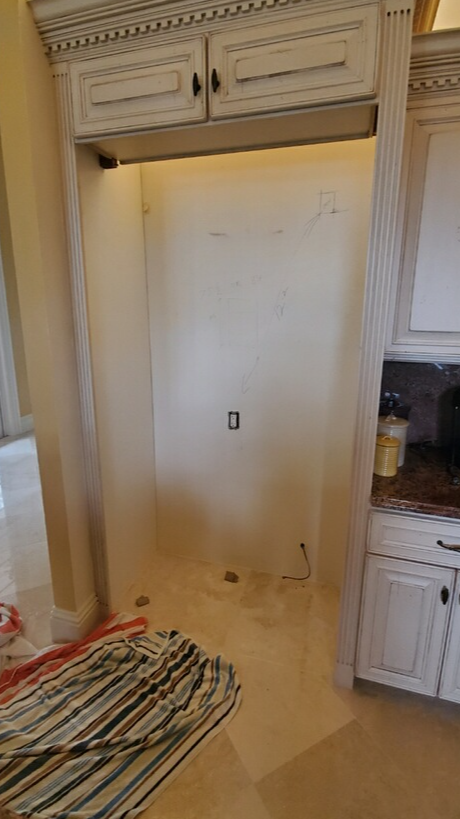 Large Fridge Removal - After Photo