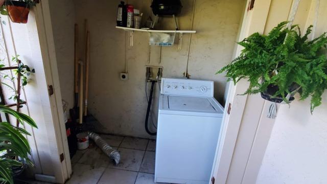 Washer Machine Removal
