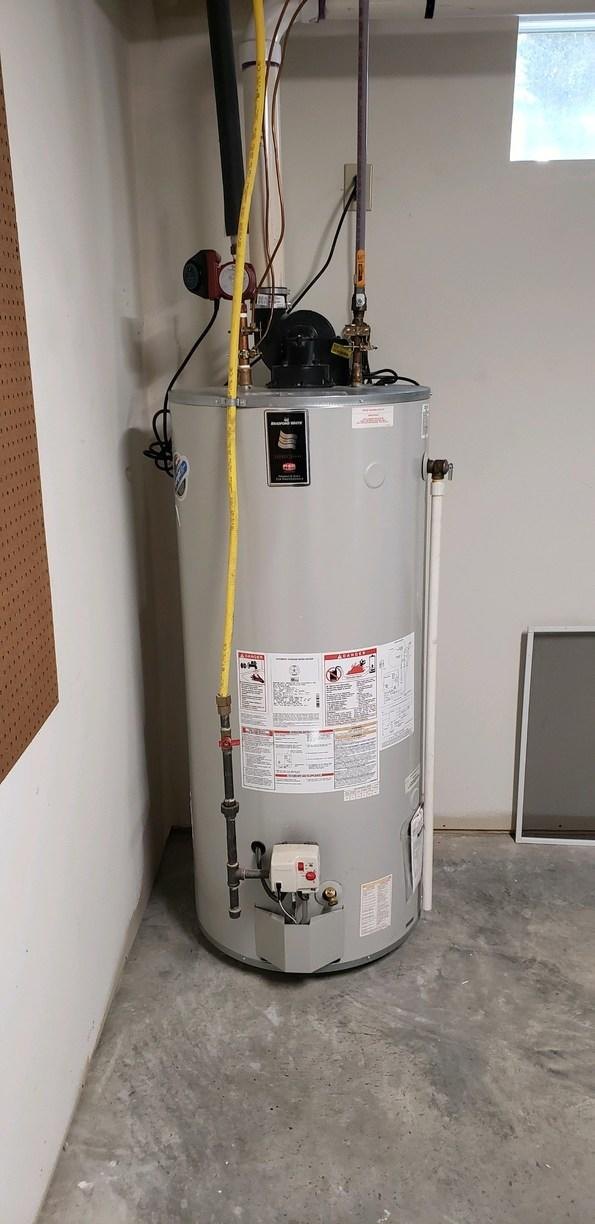 Water heater replacement in Saratoga Springs, NY - Before Photo