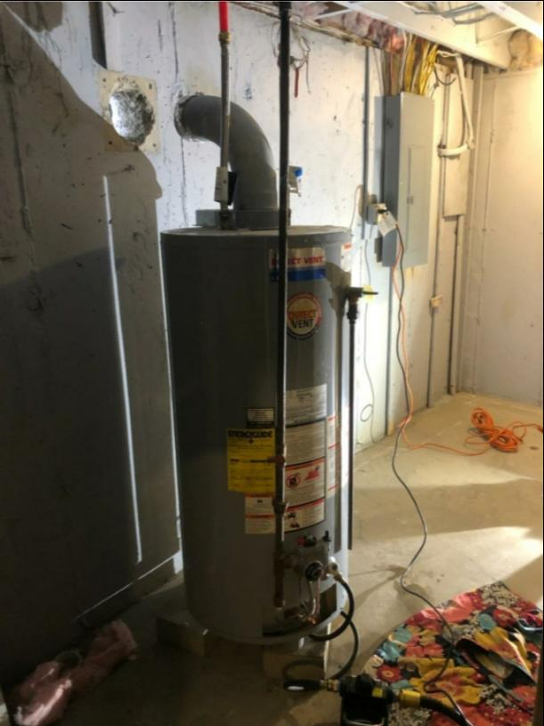 Noritz tankless water heater Installed in Glenmont, NY - Before Photo