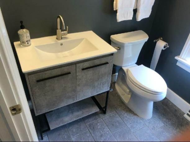 Bathroom fixture plumbing installation in Chatham