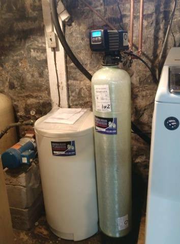 Installed new Water Softner System