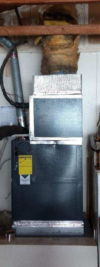Install/Replacement 2 ton Furnace and Coil Hemet, Ca - After Photo
