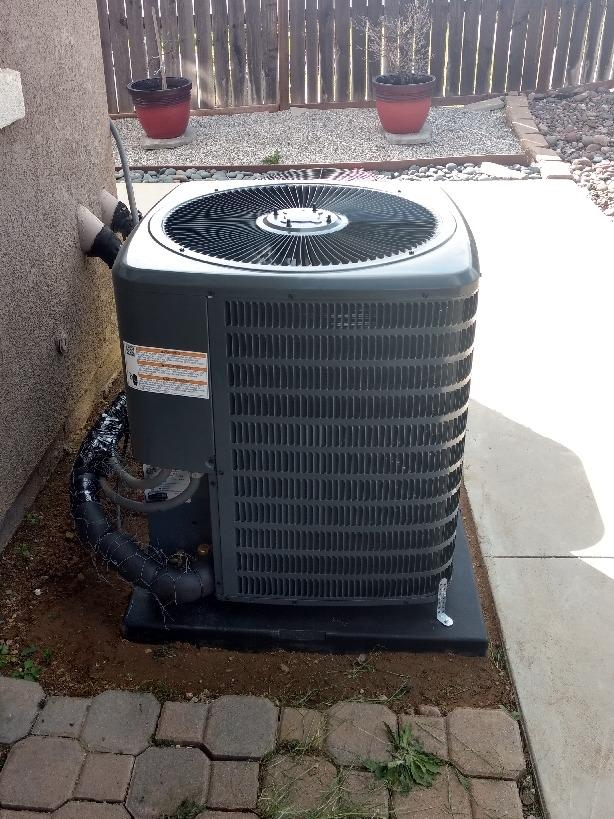 Install/Replacement 3 ton condenser - After Photo
