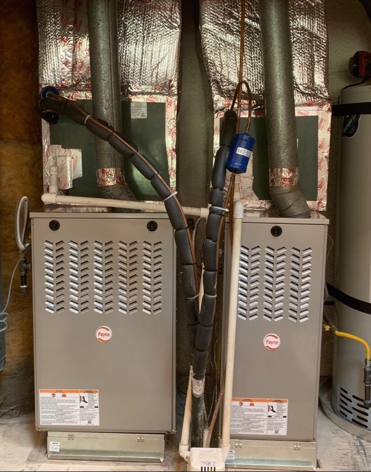 3 ton and 4 ton furnace replacements in Banning, CA - After Photo