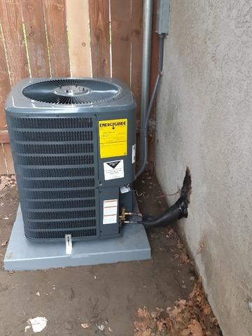Install/Replace 2 ton complete hvac system in Hemet, Ca - After Photo