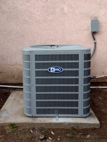 Install/Replacement 5 ton condenser Moreno Valley, Ca