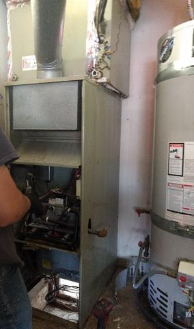Install/ Replacement 80,00 BTU Furnace and Coil Menifee, Ca