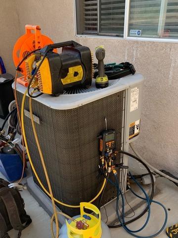 4 ton condenser installation Fontana, CA