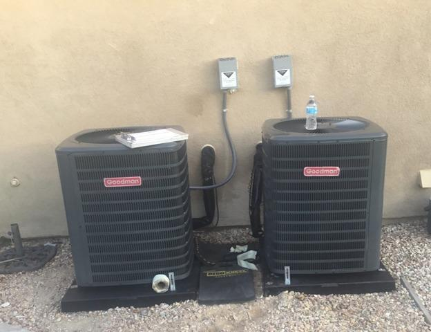 Replacement of (2) 3.5 ton  condenser units Moreno Valley, CA