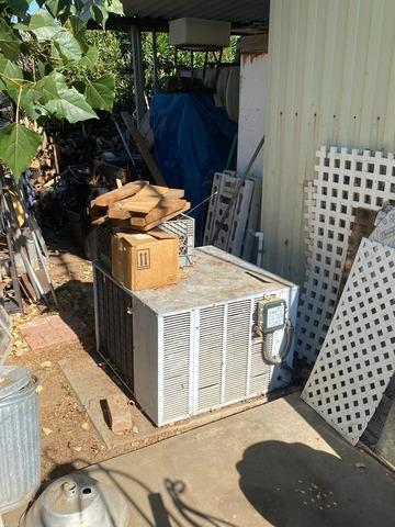 5 Ton Condenser Replacement, Cherry Valley, CA - Before Photo