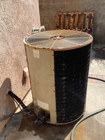Condenser replacement