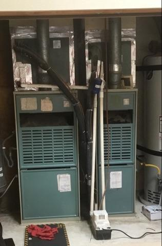 3 ton and 4 ton furnace replacements in Banning, CA - Before Photo