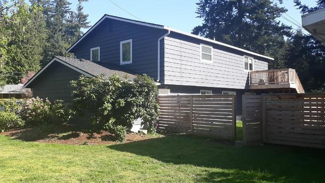 Siding Repair & Paint - After Photo