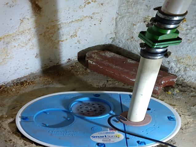 SmartSump™ Installation-Brimfield, IL - After Photo