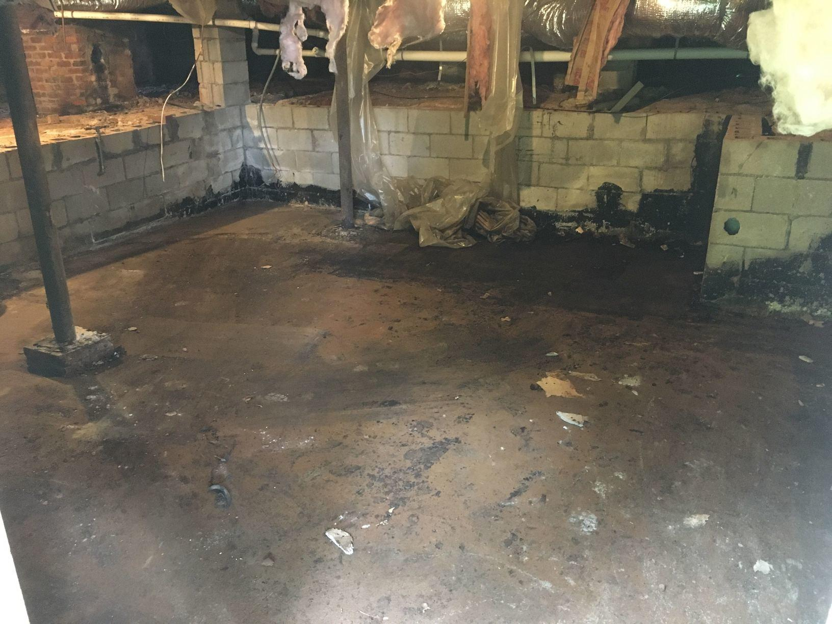 Crawl Space Cleanout in Charlotte, NC - After Photo