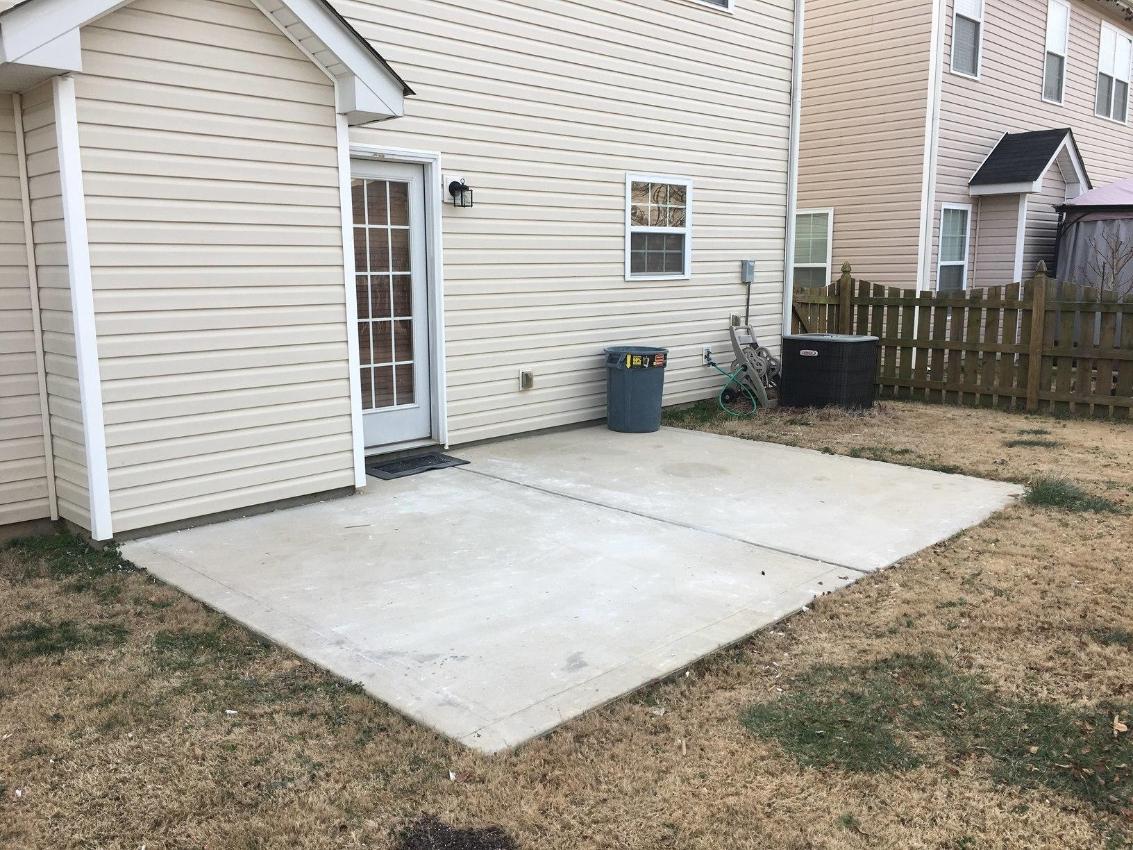 Construction Debris Removal in Matthews, NC - After Photo