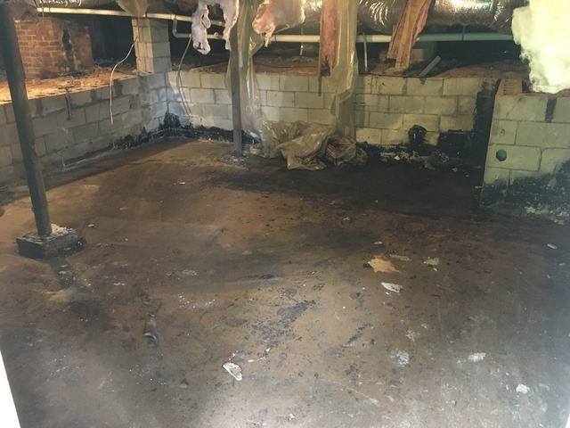 Crawl Space Clean Out in Charlotte, NC