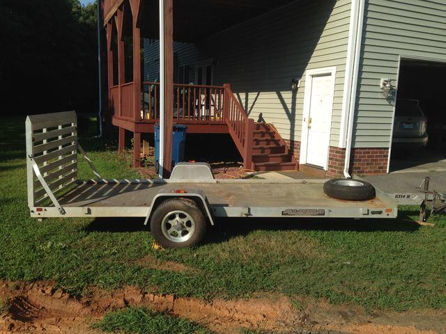 Overloaded Trailer in Concord, NC - After Photo