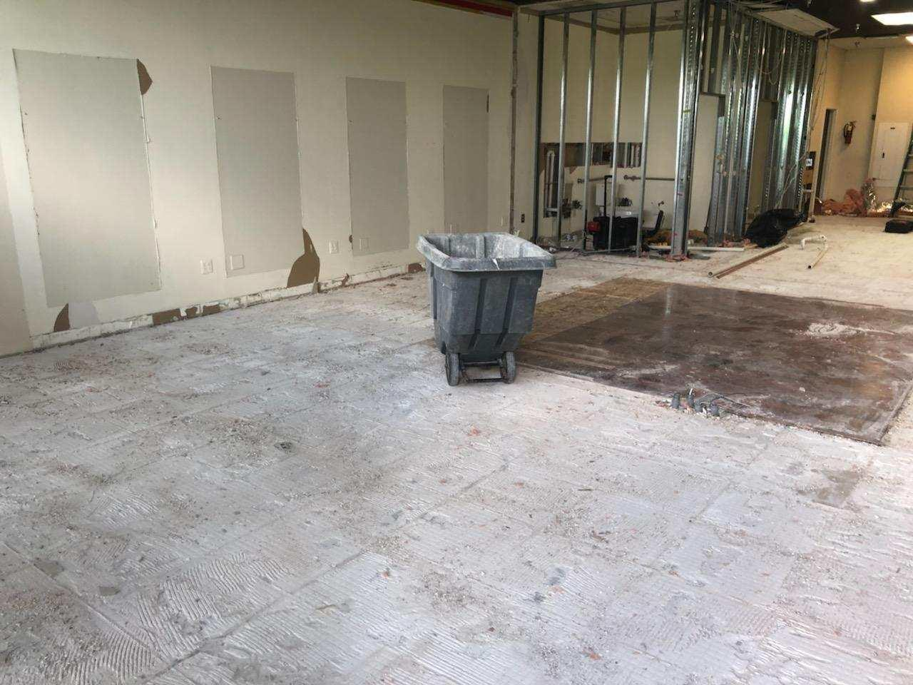 Commercial Office Cleanout in Bristow, VA - After Photo