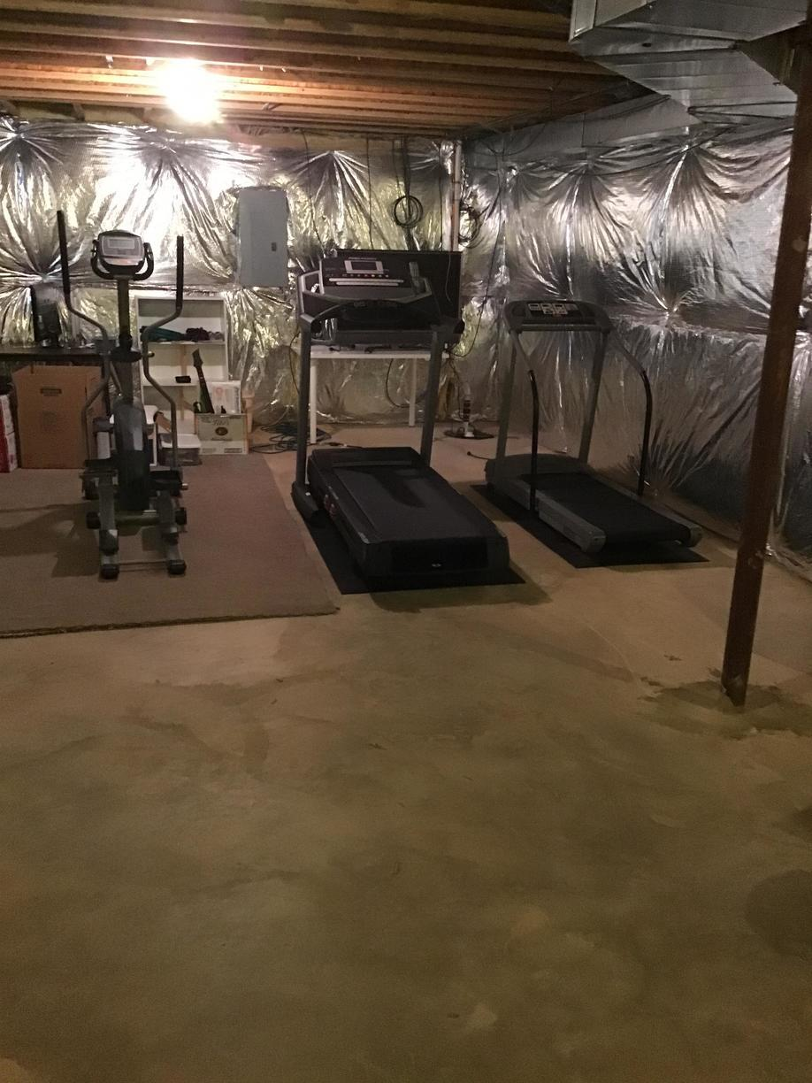 Exercise Equipment Removal in Burke, VA - Before Photo
